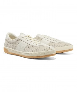B1 TENNIS SHOE PERFORATED LEATHER