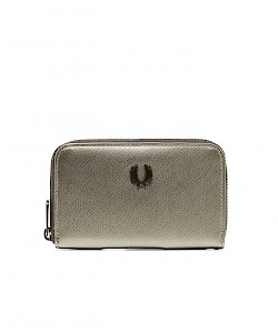 METALLIC SAFFIANO PURSE