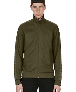 SPORTS AUTHENTIC TONAL TAPED TRACK JACKET