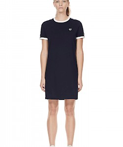 SPORTS AUTHENTIC TAPED RINGER T-SHIRT DRESS