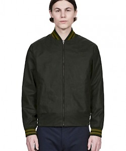 REISSUES Made in England Waxed Tennis Bomber - J4310