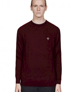 Merino Wool Crew Neck Jumper - K2502