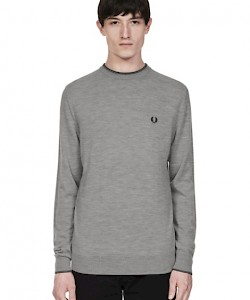 Merino Wool Crew Neck Jumper - K4502