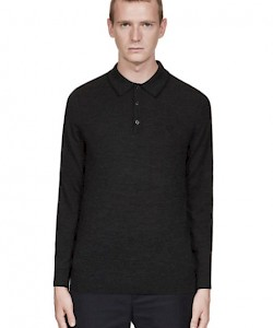 Merino Wool Knitted Shirt - K2504