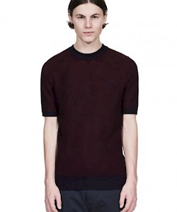 REISSUES Two Colour Knitted Crew Neck - K3309