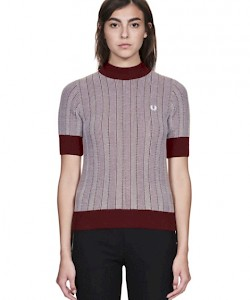 REISSUES Two-Colour Turtle Neck - K4700