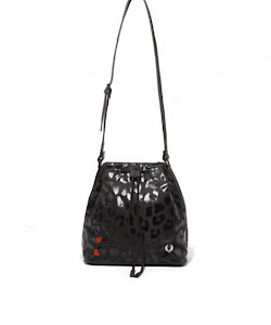 Amy Leopard Print Bucket Bag - L4222