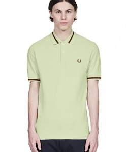 REISSUES Single Tipped Fred Perry Shirt - M2