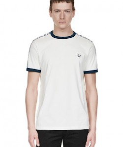 SPORTS AUTHENTIC Taped Ringer T-Shirt - M6347