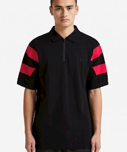 SPORTS AUTHENTIC Printed Sleeve Polo Shirt - M5537