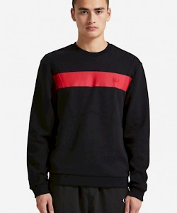 SPORTS AUTHENTIC Printed Chest Panel Sweatshirt - M5539