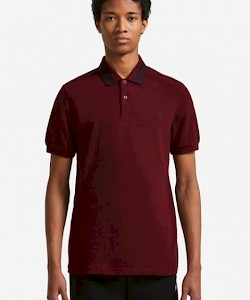 Bold Tipped Polo Shirt - M4528